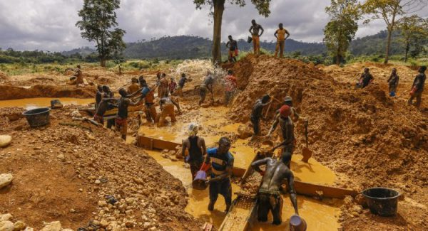 Foreigners, Galamsey, Lands ministry,
