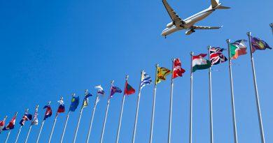 Global airline, coronavirus