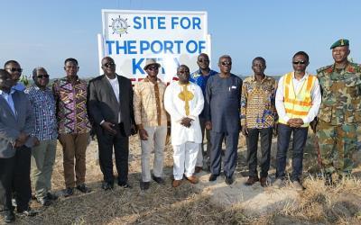 Keta, port project