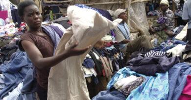 used clothes, coronavirus, guta, kantamanto