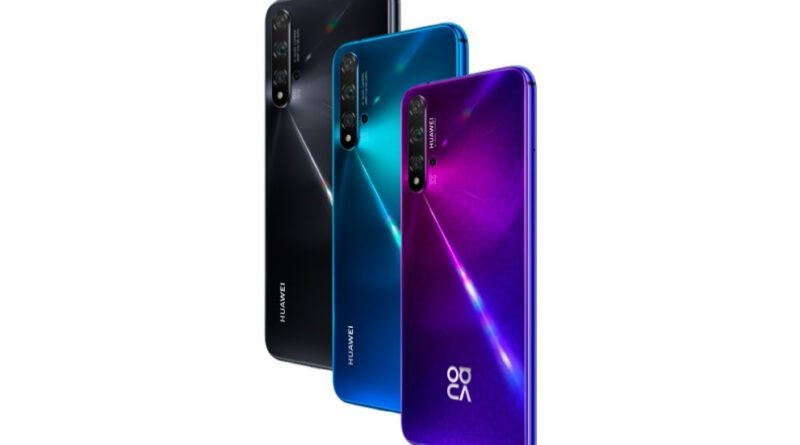 HUAWEI nova 5T: The Trendy Flagship Smartphone