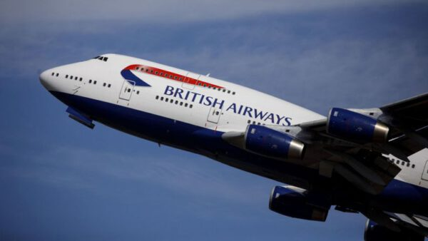 British Airways, London, Accra,