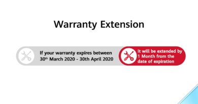 Huawei Extends the Care With a One-Month Warranty Extension this Covid-19 Period