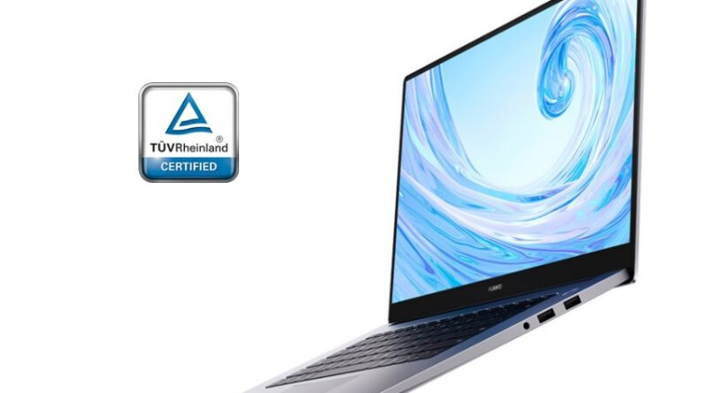 Huawei Matebook D Series protects your eyesight and improves your productivity with IPS display and anti-glare technology