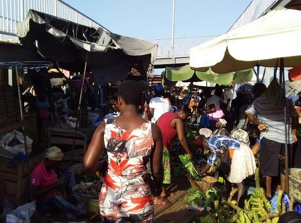 Covid-19, Ghana, Panic buying