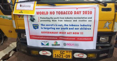 World No Tobacco Day: VALD, GhNCDA, MATCOH, Others renew call for a on Ban Shisha use
