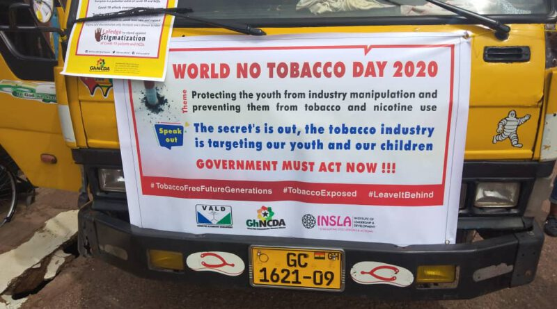 World No Tobacco Day: VALD, GhNCDA, MATCOH, Others renew call for a on Ban Shisha use