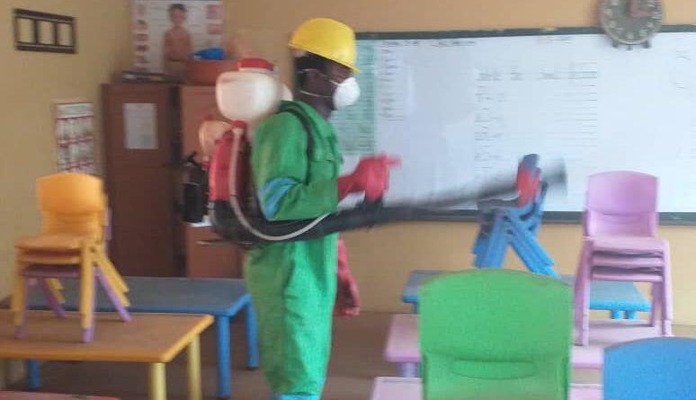 Zoomlion, Ghana, disinfection, Tarkoradi