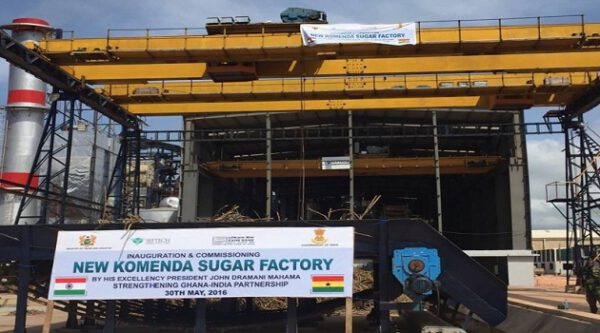 Komenda, Ghana, sugar factory