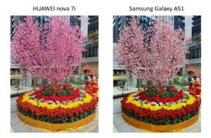 HUAWEI nova 7i tames Samsung Galaxy A51 in showdown