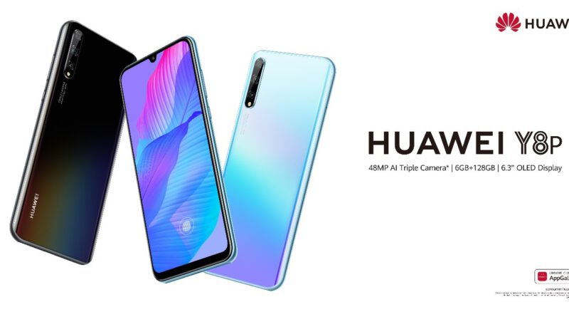 Introducing Huawei Y8p, the champion of Entry-level smart phones with 48MP AI triple camera
