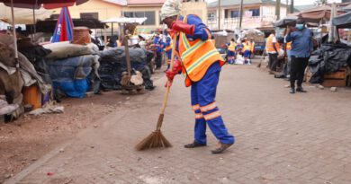 Greater Accra, Zoomlion, markets, disinfection, covid-19