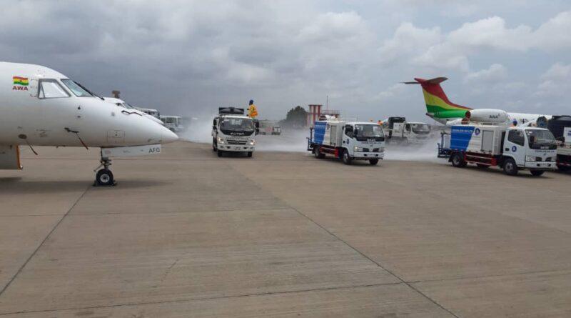 Kotoka Airport, Zoomlion, reopening, KIA, covid-19