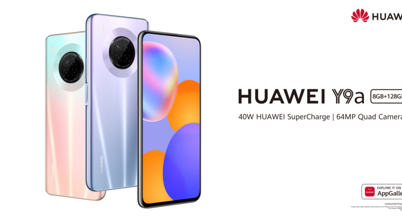 Huawei Y9a: The new addition to the Huawei Y series officially launched in Ghana