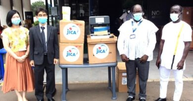 JICA Donates Automated RNA Extraction Machine and Extraction Kits to Noguchi Institute