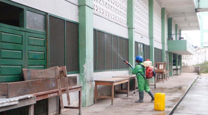 Western Region, SHSs, disinfection, Zoomlion