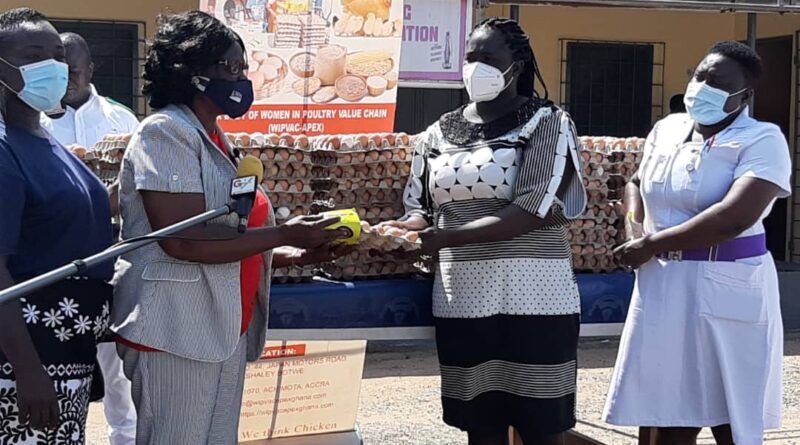Women, Poultry, WIPVaC, Accra, Pantang Psychiatric, Hospitals, World egg day