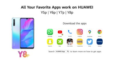 Huawei introduces an open portal to a million apps through Petal Search widget