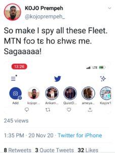 Twitter, Fleet feature