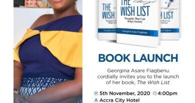 Georgina , Wish list, Fiagbenu