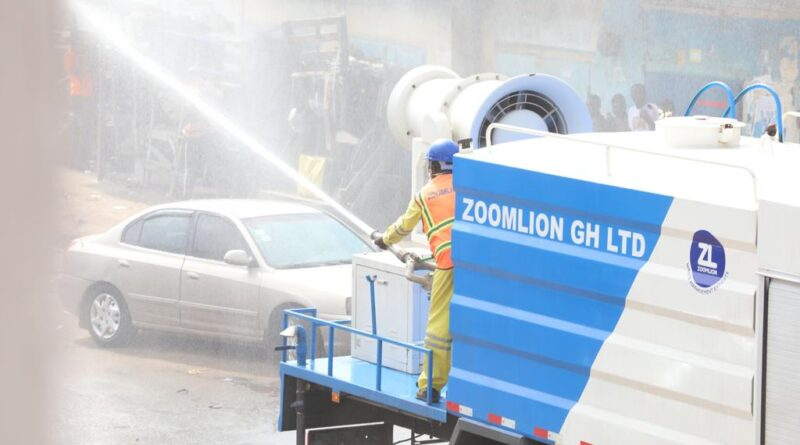 guard, covid-19, zoomlion, disinfection