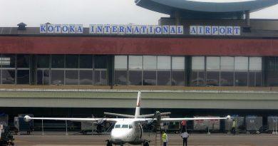 air travel, 2021, Ghana, Aviation