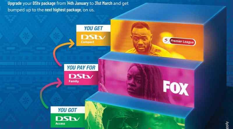 DStv, Ghana, New Year, upgrade
