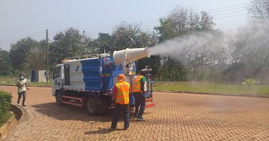 Reopening, disinfection, Zoomlion, Bono East