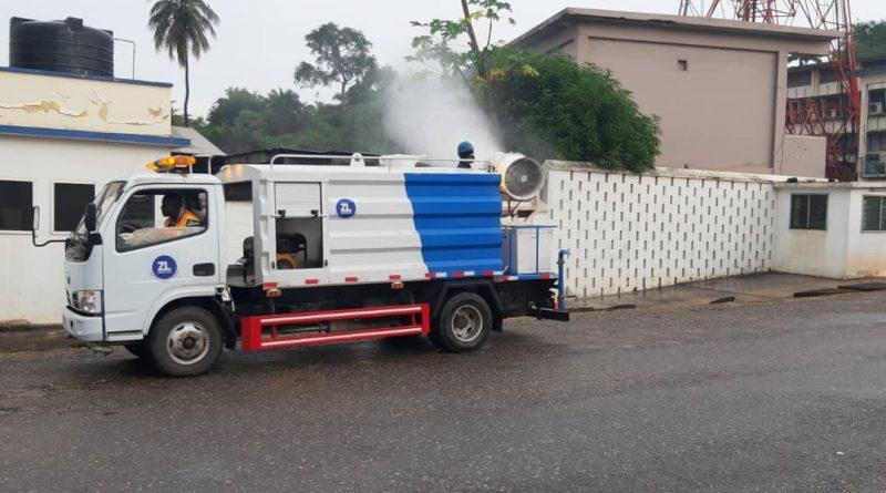 Zoomlion , MoE, disinfection, Takoradi, Technical university