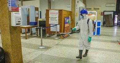 Kumasi Airport, fumigation, Zoomlion