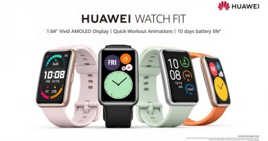 Upgrade your smartwatch with the new HUAWEI WATCH Fit!