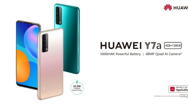 Huawei announces innovative HUAWEI Y7a in Ghana
