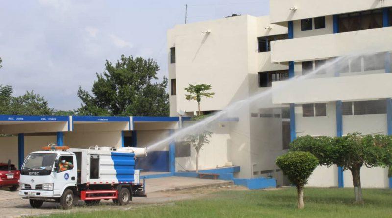 Ghana Police, Zoomlion, disinfection