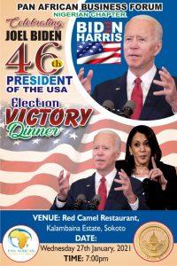 PABF honors Joe Biden and Kamala Harris with a Dinner Party
