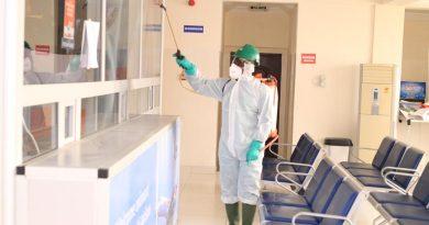 Wa Airport, fumigation, Zoomlion