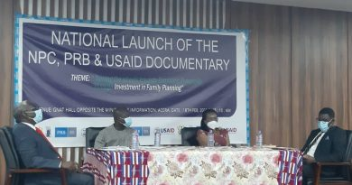 National Population Council, Irbard security, USAID, Dr. Leticia Appiah