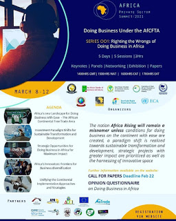 Righting business, wrongs heads, AfCFTA, West Africa Chambers of Commerce