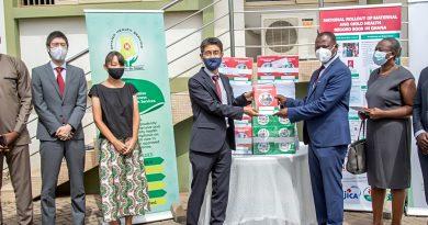 JICA donates One Million Mother/Child Record Books to Ghana Health Service