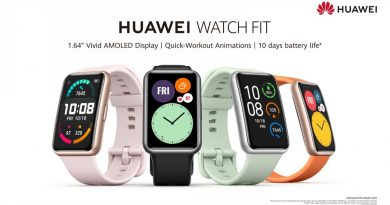 Get the HUAWEI WATCH Fit now at GHS559 and Enjoy a Free Gift Box