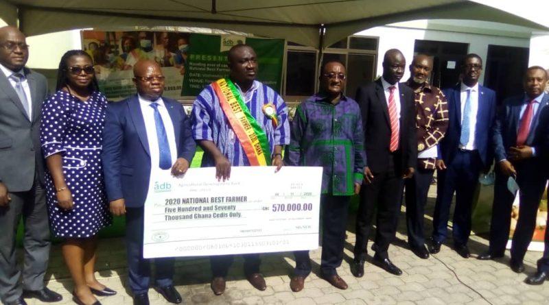 Agriculture Development Bank, national best farmer