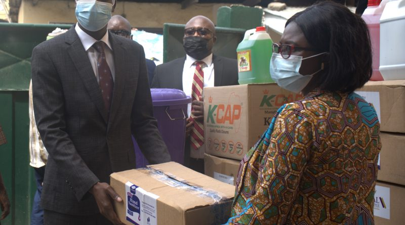 Imperial General Assurance donates COVID-19 preventive items to basic schools in Accra