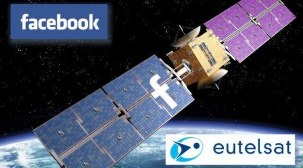 Facebook, Eutelsat