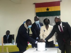 Accra Ubuntu Lions Club Charters, Embarks on a Humanitarian Project in North Tongu