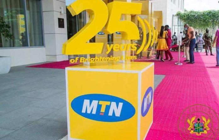 smartphones, MTN Ghana, 25th anniversary