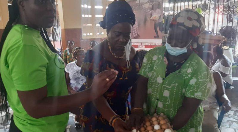 Egg sellers, Kantamanto, GNECS