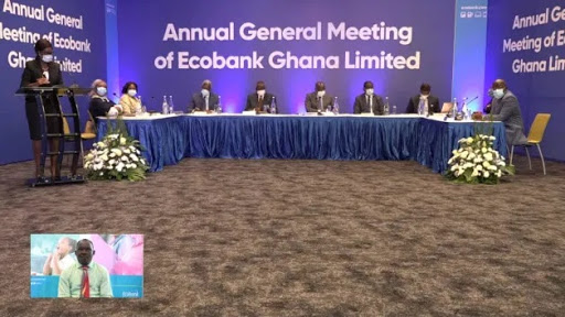 Ecobank holds virtual AGM: Declares GHc177m to shareholders