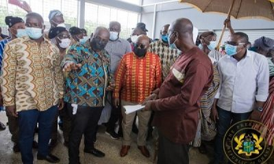 President Akufo-Addo inspects ongoing projects in Northern Region