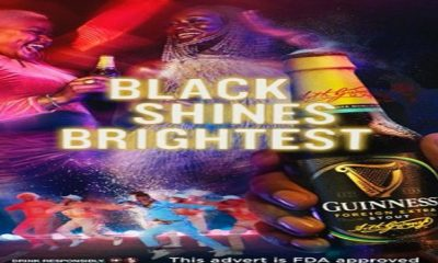 Guinness, 'Black shines brightest' campaign Ghana