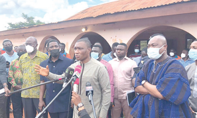 Bauxite, Minister, workers