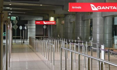 Covid, Qantas, revenue